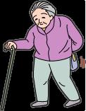 背中が曲がったり姿勢が悪くなったり腰痛が出ます。